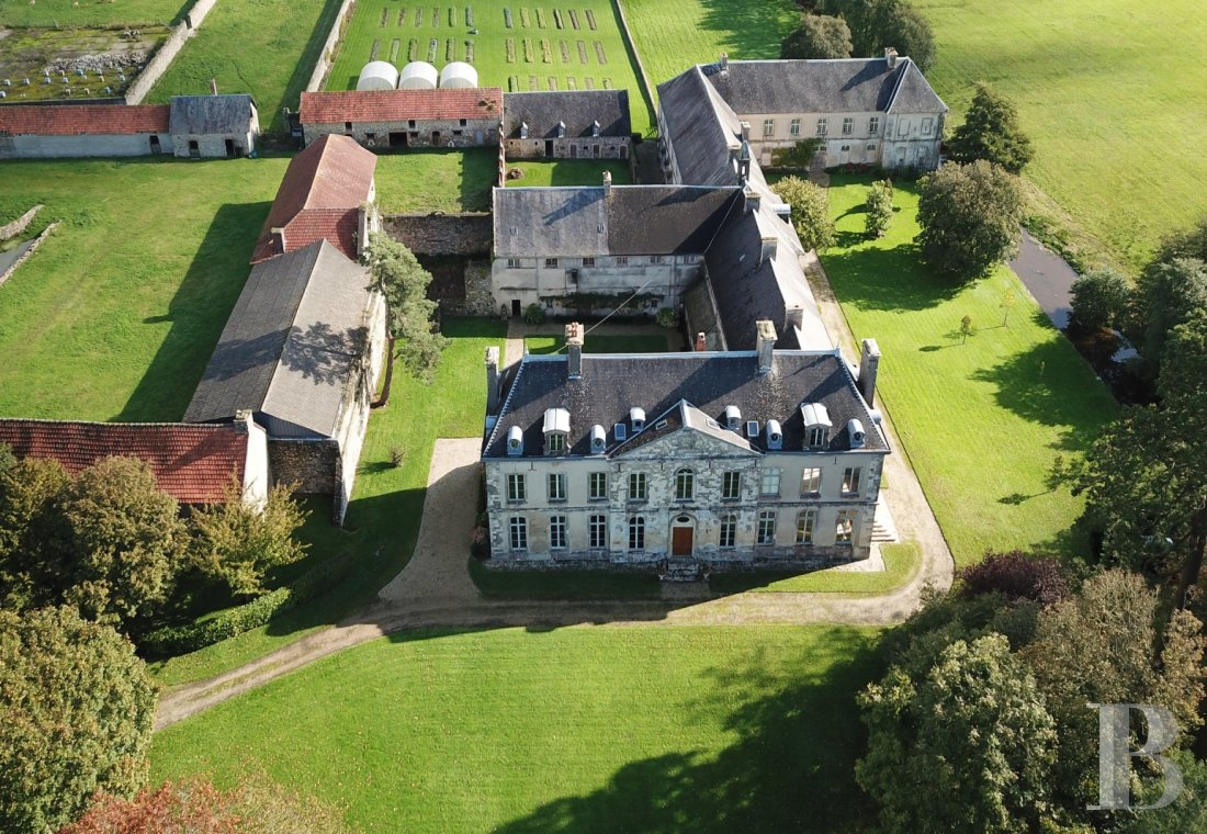 Historic buildings for sale - lower-normandy - On the Cotentin peninsula, near the beaches,  a listed abbey, its farm and 25 hectares of land