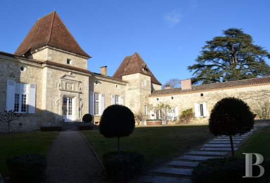 chateaux for sale France aquitaine   - 5