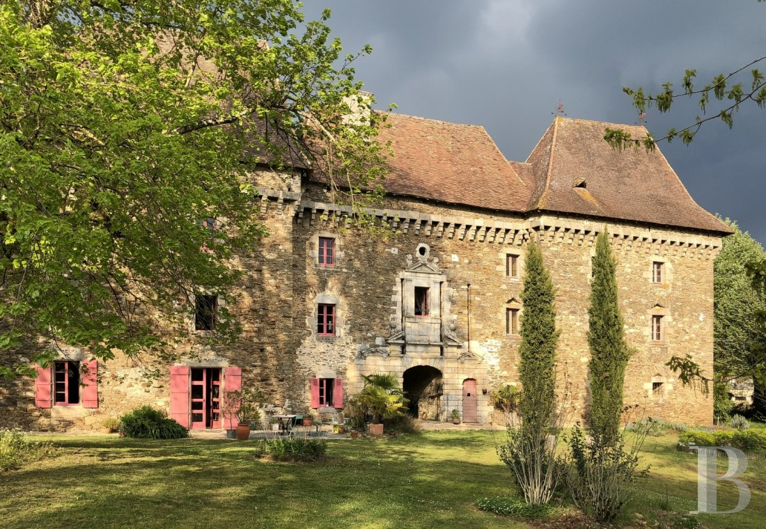 chateaux for sale France aquitaine   - 1