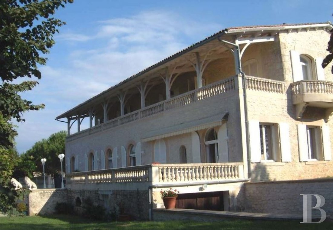 France mansions for sale poitou charentes manors for - 7