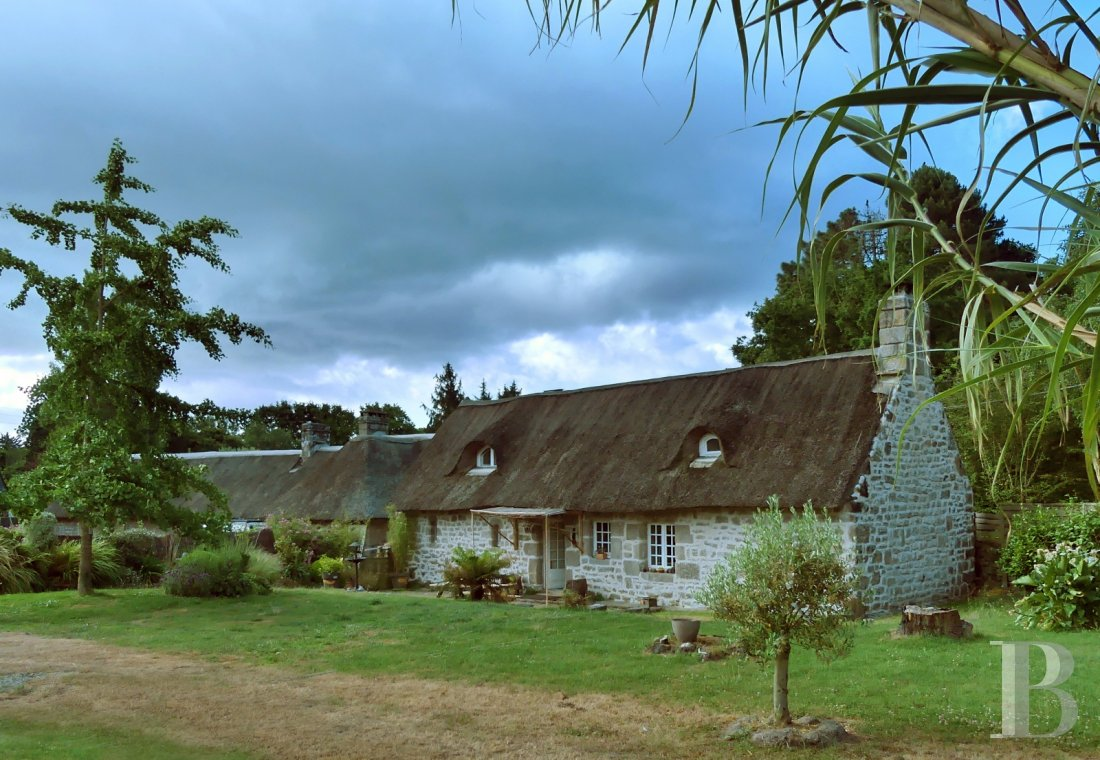 Character houses for sale - brittany - In south Finistère, in a well-preserved ecosystem, an authentic coastline cottage