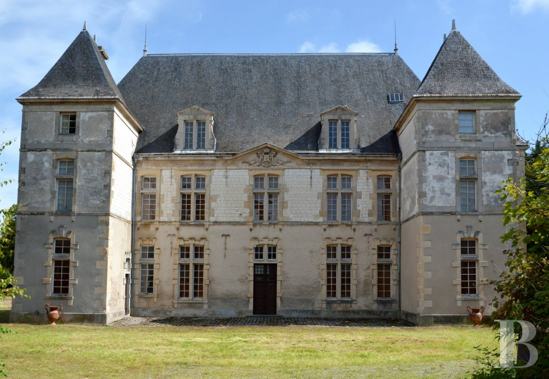 Castles / chateaux for sale - champagne-ardennes - A 17th century chateau and its parklands, with a river running through,  in the Champagne region, 1½ hours from Paris via the A4 motorway
