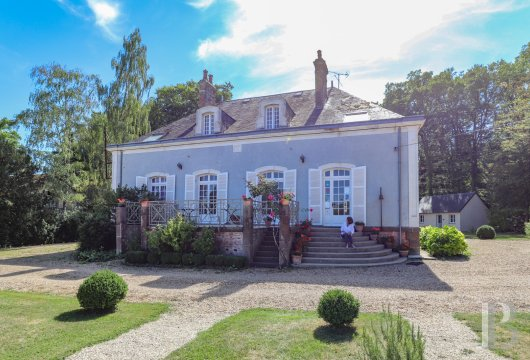 France mansions for sale burgundy character houses - 2